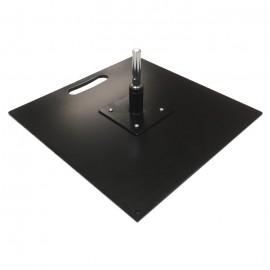 Metalinis pagrindas 40 x 40 cm su sukikliu, 9,0kg