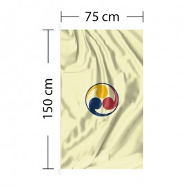 Vertikali vėliava 75x150 cm