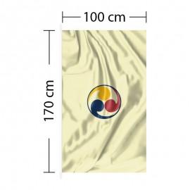 Vertikali vėliava 100x170 cm
