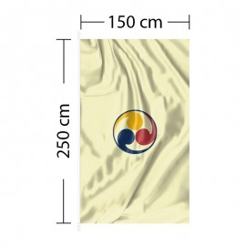 Vertikali vėliava 150x250 cm