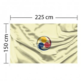 Horizontali vėliava 225x150 cm
