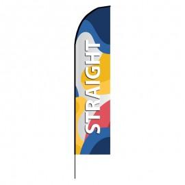 Reklaminė vėliava Straight