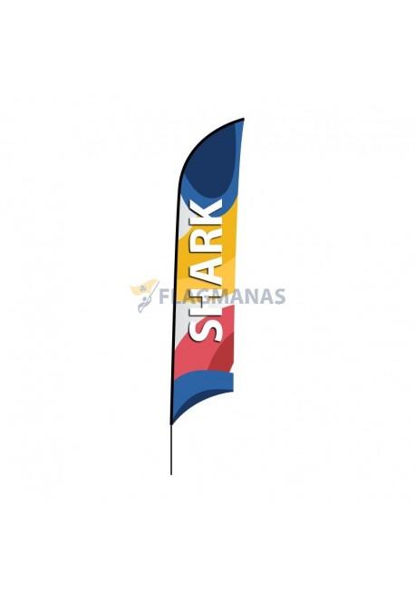 Reklaminė vėliava Shark