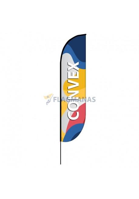 Reklaminė vėliava Convex