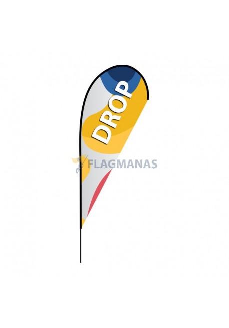 Reklaminė vėliava Drop