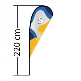 Reklaminė vėliava Drop S