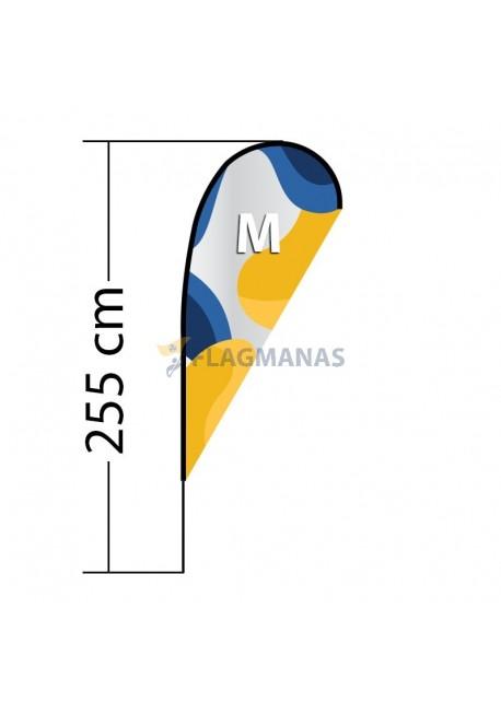 Reklaminė vėliava Drop M