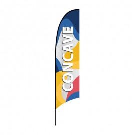 Reklaminė vėliava Concave