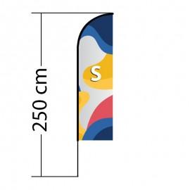 Reklaminė vėliava Straight S
