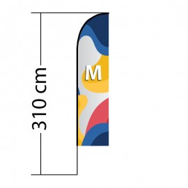 Reklaminė vėliava Straight M