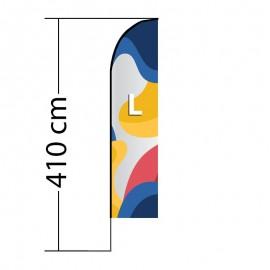 Reklaminė vėliava Straight L