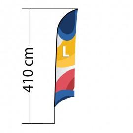 Reklaminė vėliava Shark L