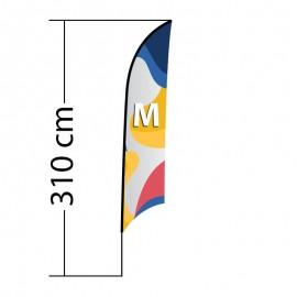 Reklaminė vėliava Shark M