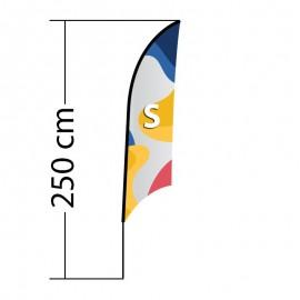 Reklaminė vėliava Shark S