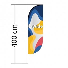 Reklaminė vėliava Convex L-Wide