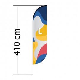 Reklaminė vėliava Convex L