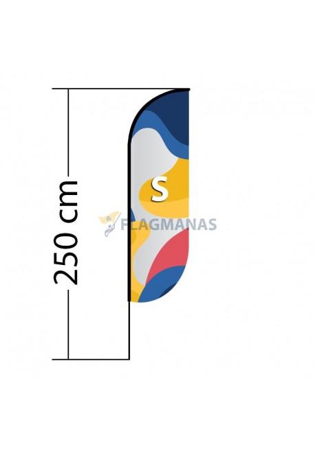 Reklaminė vėliava Convex S