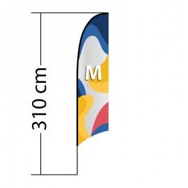 Reklaminė vėliava Concave M