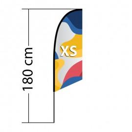 Reklaminė vėliava Angled XS