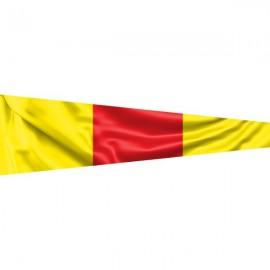 """Signalinė jūrinė vėliava Nadazero """"0"""""""