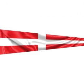 """Signalinė jūrinė vėliava Kartefour """"4"""""""