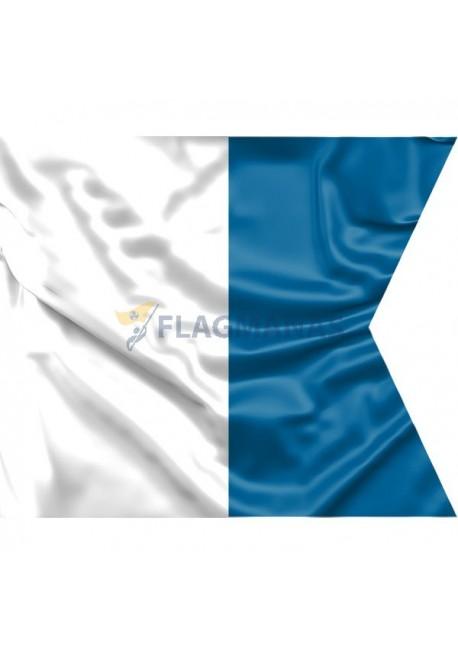 "Signalinė jūrinė vėliava Alfa ""A"""