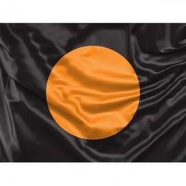 Juoda vėliava su oranžiniu apskritimu (Pašalinti techn. problemas)