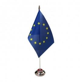 Europos Sąjungos stalinė vėliavėlė, 12 x 20 cm