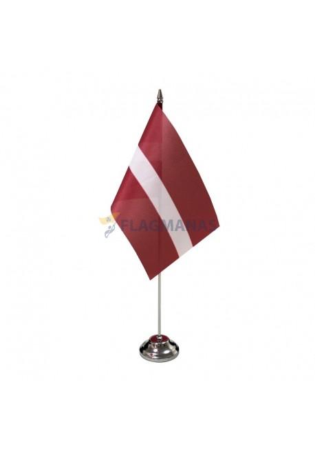 Latvijos stalinė vėliavėlė, 12 x 20 cm