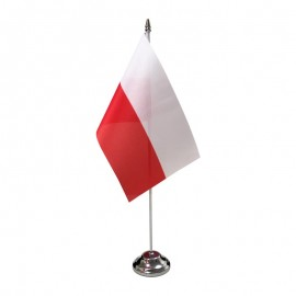 Lenkijos stalinė vėliavėlė, 12 x 20 cm