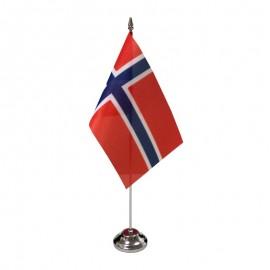 Norvegijos stalinė vėliavėlė, 12 x 20 cm