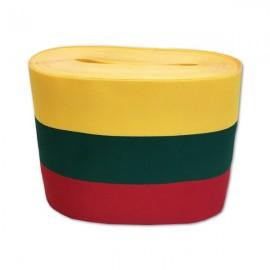 Austa trispalvė juostelė, 150 mm