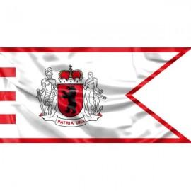 """Žemaitijos vėliava """"Su laikytojais ir meška"""""""