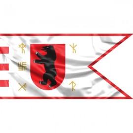 "Žemaitijos vėliava ""Su meška skyde ir runomis"" II"