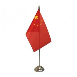 Kinijos stalinė vėliavėlė, 12 x 20 cm