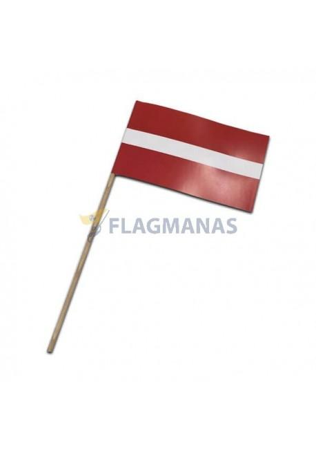 Latvijos popierinė vėliavėlė