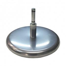 Apvalus metalinis pagrindas su sukikliu, Ø27, 2,7kg