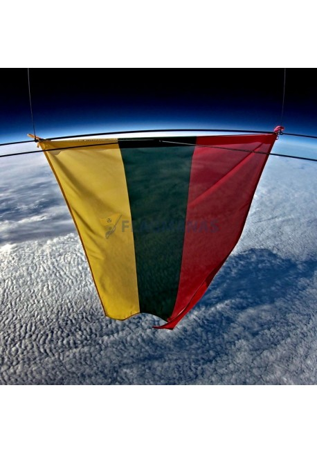 Spauda ant vėliavinės tekstilės