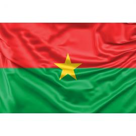 Burkina Faso vėliava
