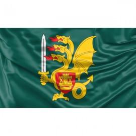 LDK Butigeidžio dragūnų bataliono vėliava