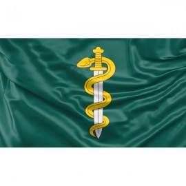 Dr. Jono Basanavičiaus karo medicinos tarnybos vėliava
