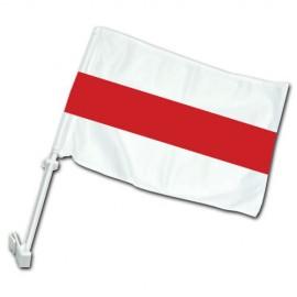Senoji Baltarusijos automobilinė vėliavėlė su koteliu