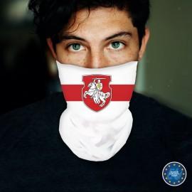"""Veido apdangalas su spauda """"Senoji Baltarusijos vėliava, su herbu"""""""