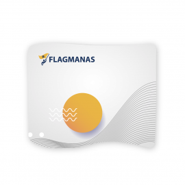 Tekstilinė sienelė Flagman TubeC30