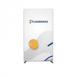 Tekstilinė sienelė Flagman Popular120