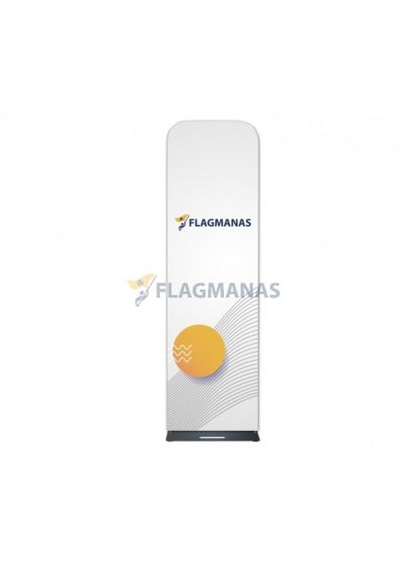 Tekstilinė sienelė Flagman Tube60