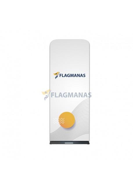 Tekstilinė sienelė Flagman Tube90