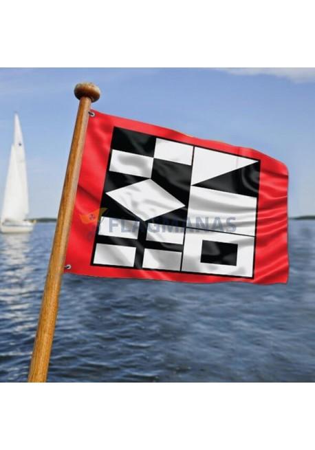 Neringos laivo vėliava