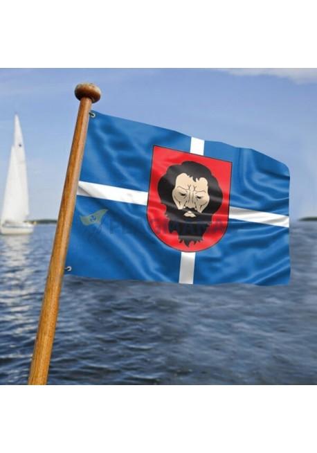 Trakų laivo vėliava