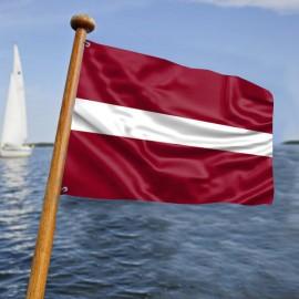 Latvijos laivo vėliava